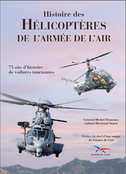 Histoire des hélicoptères de l'armée de l'Air. Photo E/S.