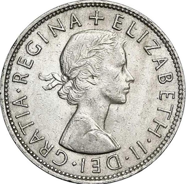 Elizabeth-II_Half Crown