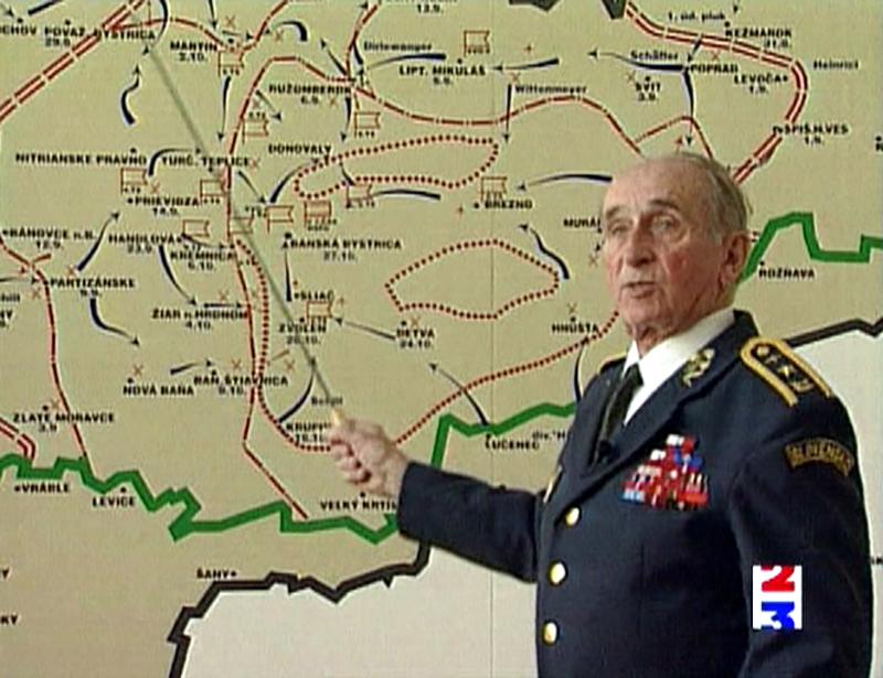 Le général Schleichart  commandait une unité de partisans