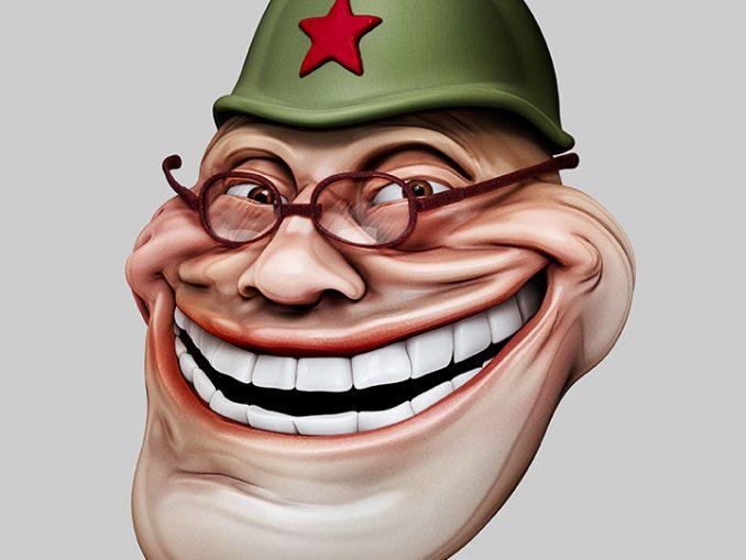 Troll russe - Photo © BS
